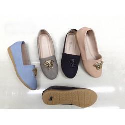 giày mọi  versace da nhung 1217
