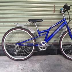 Xe đạp MTB cho bé từ 7-14 tuổi American Eagle của Mỹ - màu blue