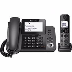 Điện thoại để bàn mẹ bồng con Panasonic KX-TGF 310 Đen
