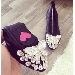 Giày búp bê chuồn chuồn đá nhúm - G00590