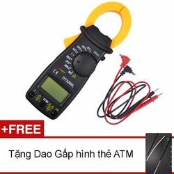 Ampe kế cầm tay kẹp vạn năng kỹ thuật số kẹp mét VC3266L Tặng dao ATM
