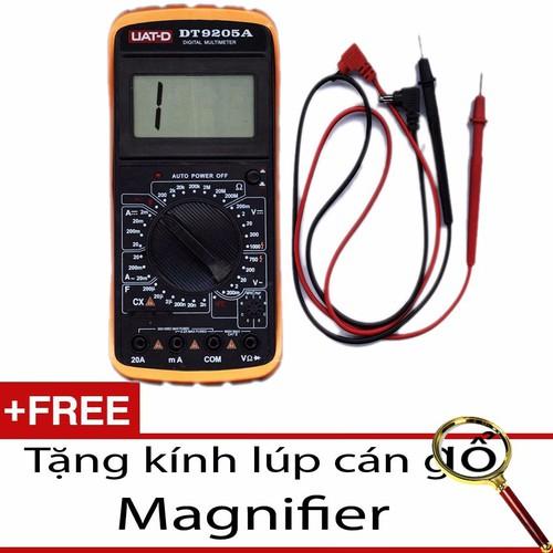 Đồng hồ đo vạn năng Digital UAT-D DT9205A - Tặng Kính Lúp Magnifier - 4055363 , 3936710 , 15_3936710 , 200000 , Dong-ho-do-van-nang-Digital-UAT-D-DT9205A-Tang-Kinh-Lup-Magnifier-15_3936710 , sendo.vn , Đồng hồ đo vạn năng Digital UAT-D DT9205A - Tặng Kính Lúp Magnifier