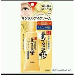 Kem chống thâm và nhăn mắt tinh chất đậu nành  Nhật 25g trị nhăn