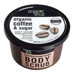 TẨY TẾ BÀO CHẾT TOÀN THÂN ORGANIC COFFEE AND SUGAR BODY SCRUB