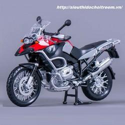 Mô hình xe mô tô BMW R1200GS  tỷ lệ 1:12 Maisto