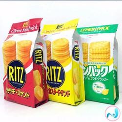 Bánh quy Ritz - hàng xách tay từ Nhật