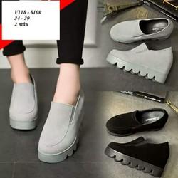 Giày sneaker nữ siêu hot V118