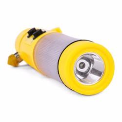 Đèn pin đa năng 4 trong 1 kèm báo cứu hộ