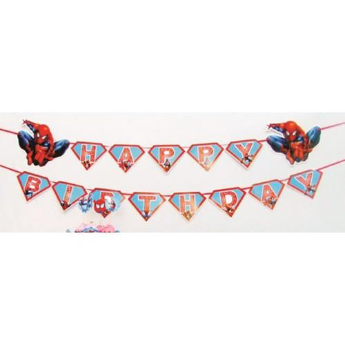 Dây chữ Happy Birthday sinh nhật người nhện Spiderman - 4054929 , 3932443 , 15_3932443 , 65000 , Day-chu-Happy-Birthday-sinh-nhat-nguoi-nhen-Spiderman-15_3932443 , sendo.vn , Dây chữ Happy Birthday sinh nhật người nhện Spiderman