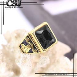 Nhẫn inox nam đẹp cao cấp giá tốt nhất HCM - mẫu N519