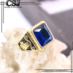 Nhẫn inox nam đẹp cao cấp giá tốt nhất HCM - mẫu N516