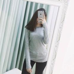 Áo thun tay dài cực đẹp Cotton Pull