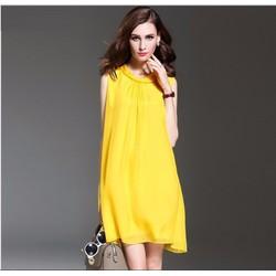 Đầm suông sát nách thời trang cao cấp 2016 - A962