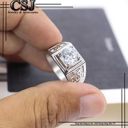 Nhẫn inox nam đẹp cao cấp giá tốt nhất HCM - mẫu N521
