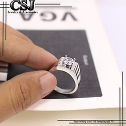 Nhẫn inox nam đẹp cao cấp giá tốt nhất HCM - mẫu N520