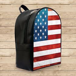 Balo in hình lá cờ Mỹ đẹp - - Size Nhỏ
