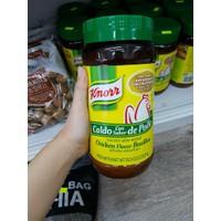 Bột nêm gà Knorr không hoá chất của Mỹ lọ 1kg.