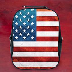 Balo in hình lá cờ Mỹ đẹp - Size Nhỏ
