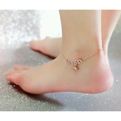 Lắc chân nữ thời trang Tittan