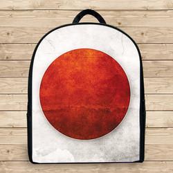 Balo in hình lá cờ Nhật đẹp k3 - - Size Nhỏ