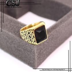 Nhẫn inox nam đẹp cao cấp giá tốt mẫu N549