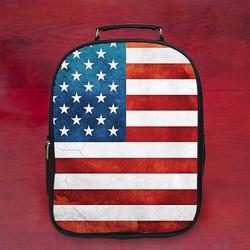 Balo in hình lá cờ Mỹ đẹp k1 - Size Lớn