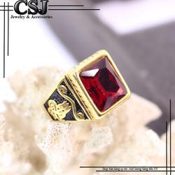 Nhẫn inox nam đẹp cao cấp giá tốt nhất HCM - mẫu N517