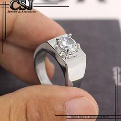 Nhẫn inox nam đẹp cao cấp giá tốt nhất HCM - mẫu N522