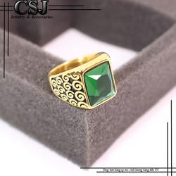 Nhẫn inox nam đẹp cao cấp giá tốt mẫu N548
