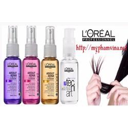 Serum dưỡng và phục hồi tóc Pháp