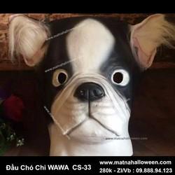Mặt nạ cao su Chó Chihuahua
