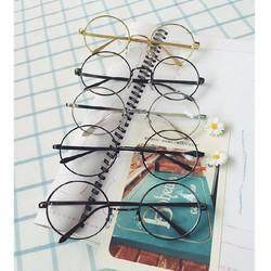 Mắt kính gọng tròn nobita - Kính thời trang cá tính