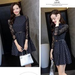 Váy tay ren-CN40