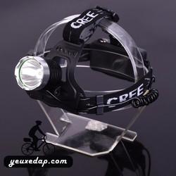 Đèn đeo trán CREE siêu sáng kèm pin sạc 18650 - YXD4502