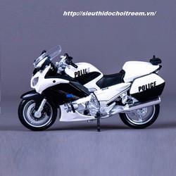 Mô hình xe mô tô YAMAHA FJR1300 VERSION Cảnh sát tỷ lệ 1:18