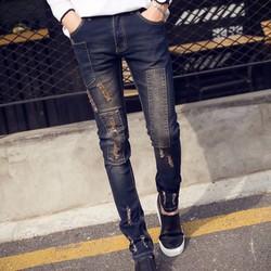 Mã số MM1054 - Quần jeans nam cá tính, trẻ trung
