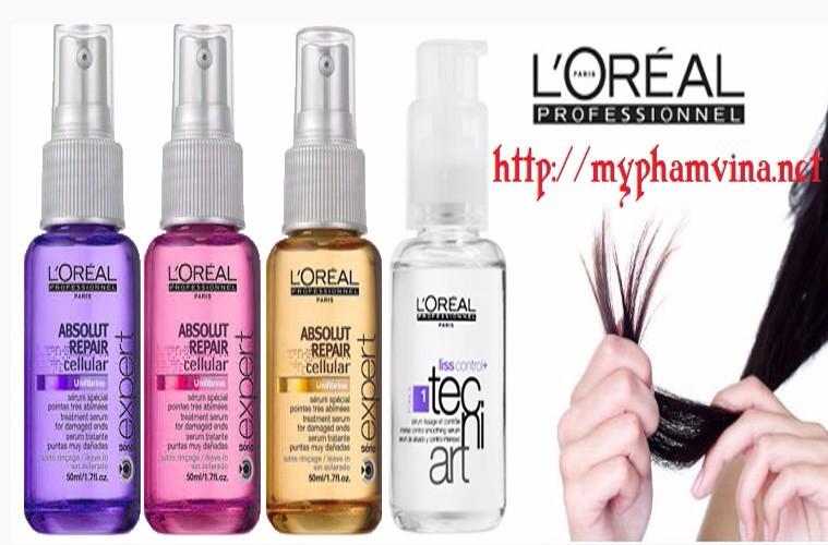 Serum dưỡng và phục hồi tóc Loreal Pháp 2
