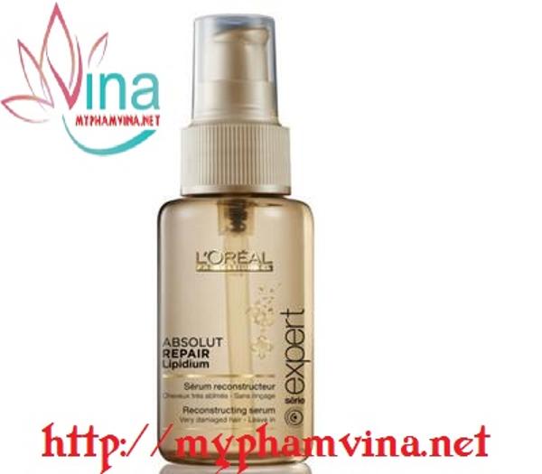 Serum dưỡng và phục hồi tóc Loreal Pháp 3