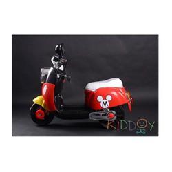Xe máy điện Mickey cho bé