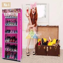 Thanh lý Tủ vải để giày dép 6 tầng