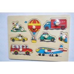 Bảng ghép hình phương tiện giao thông