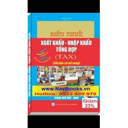 Sách: Biểu Thuế Xuất Khẩu Nhập Khẩu tổng hợp 2016 - song ngữ Việt Anh