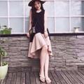 Đầm suông đuôi xòe bồng bềnh cực đẹp Tender Dress