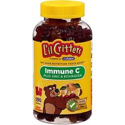 Kẹo dẻo tăng cường hệ miễn dịch Lil Critters 190 viên