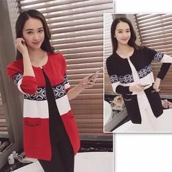 SALE - hàng nhập loại 1 - áo khoác len from dài hd9197