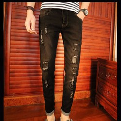 Mã số 51053 - Quần jeans nam phong cách, sành điệu