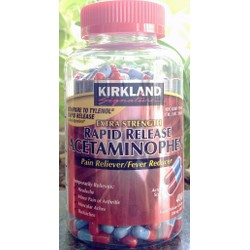 Kirkland Extra Strength Rapid Release Acetaminophen 500mg 400 viên
