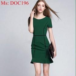 Đầm body thời trang công sở thiết kế đơn giản trẻ đẹp DOC196