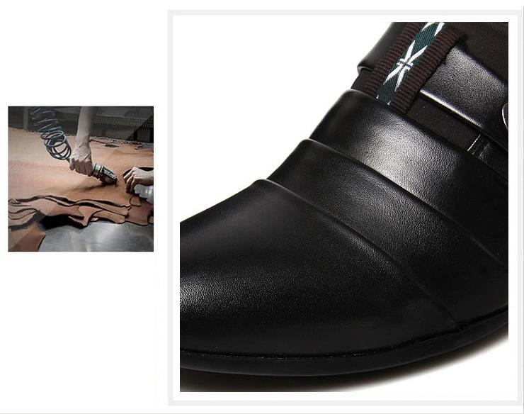 Giày tây nam sang trọng form Ý 3