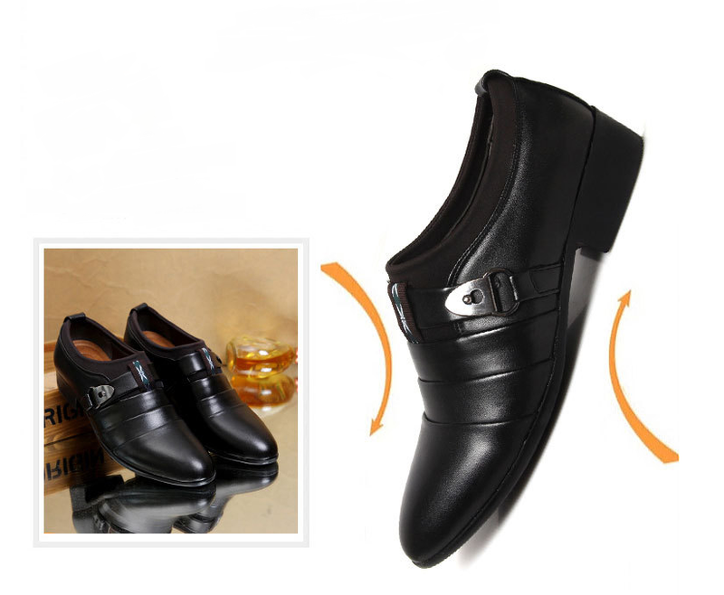 Giày tây nam sang trọng form Ý 4